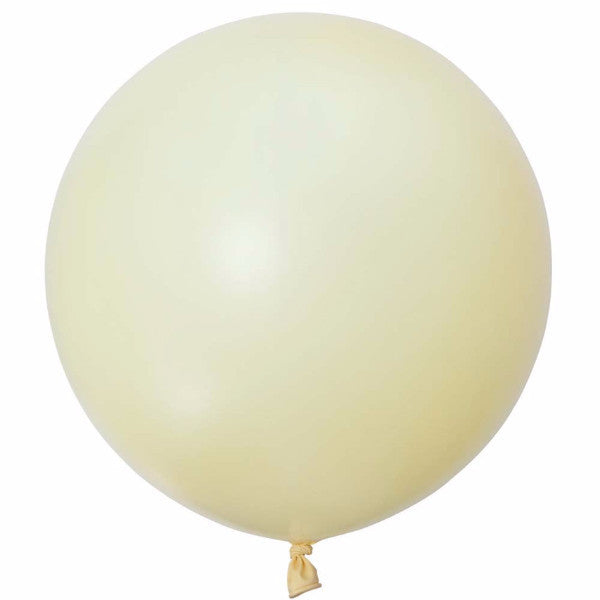 "Giant Round Balloon 36""- Ivory"