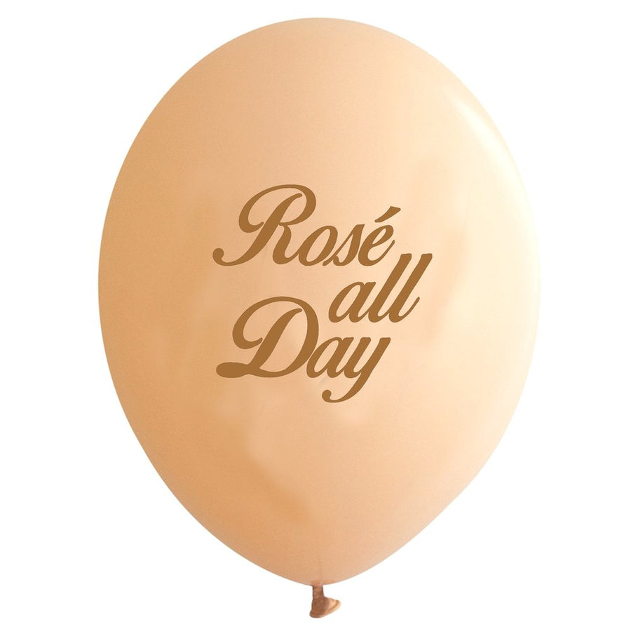 """Rose all Day!""Balloon - Rose Gold / Blush"