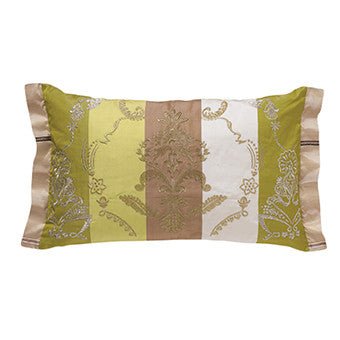 Designers Guild Basquina Moss Throw Pillow-Pillow-DG-Designers Guild-Moss-Putti Fine Furnishings