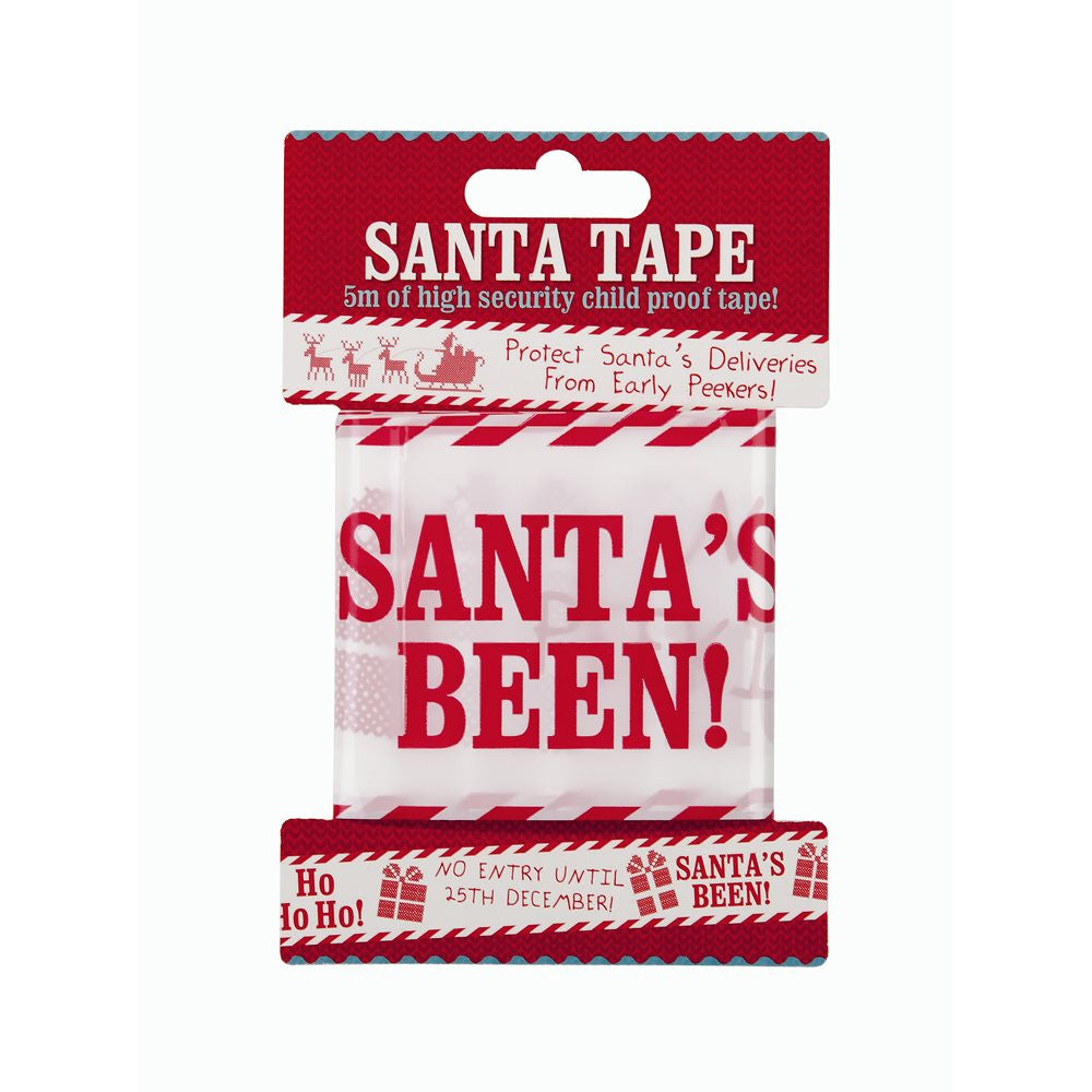Waiting for Santa Security Tape -  Party Supplies - Talking Tables - Putti Fine Furnishings Toronto Canada - 2
