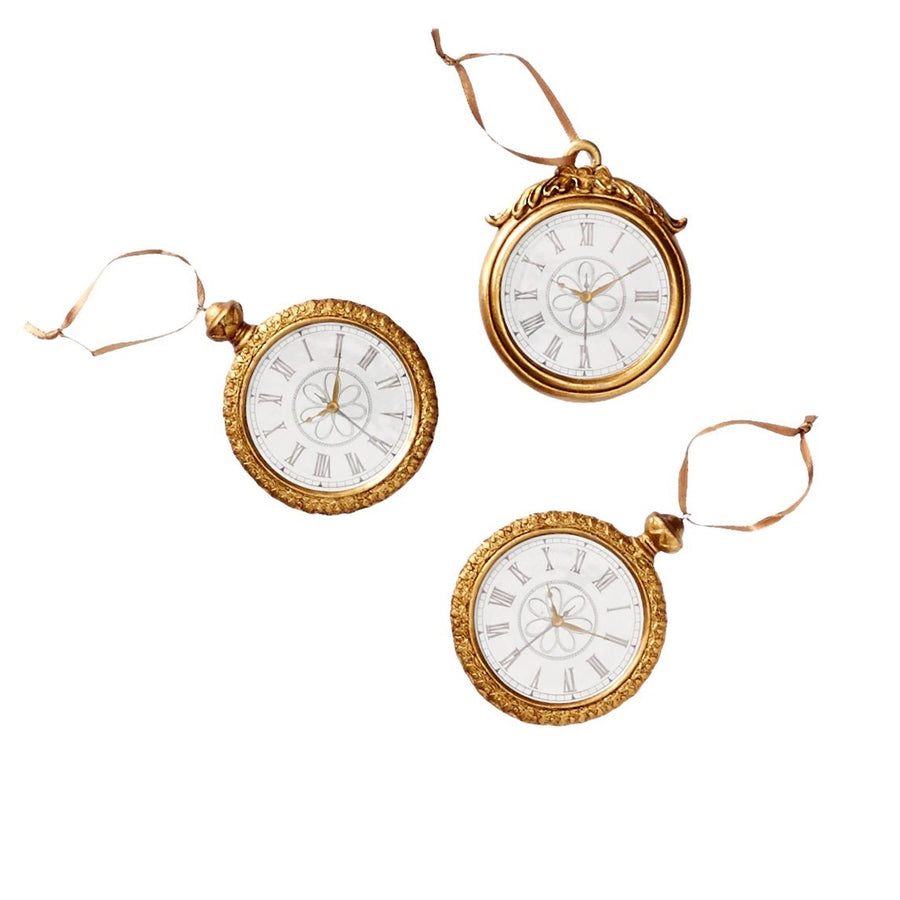 Pocket Watch Ornament, WCI-Winward Canada, Putti Fine Furnishings