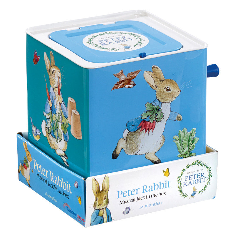 Peter Rabbit Jack in the Box, KP-Kids Preffered, Putti Fine Furnishings