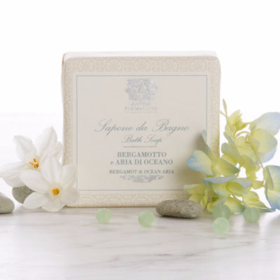 Antica Farmacista Bergamot and Ocean Aria Bar Soap, AF-Antica Farmacista, Putti Fine Furnishings