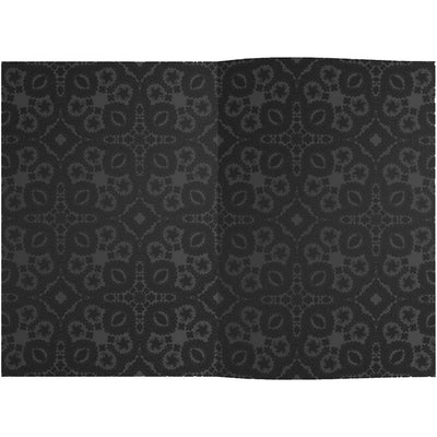 Christian Lacroix Embossed Paseo Notebook - Black-Stationary-GA-Galison-Putti Fine Furnishings