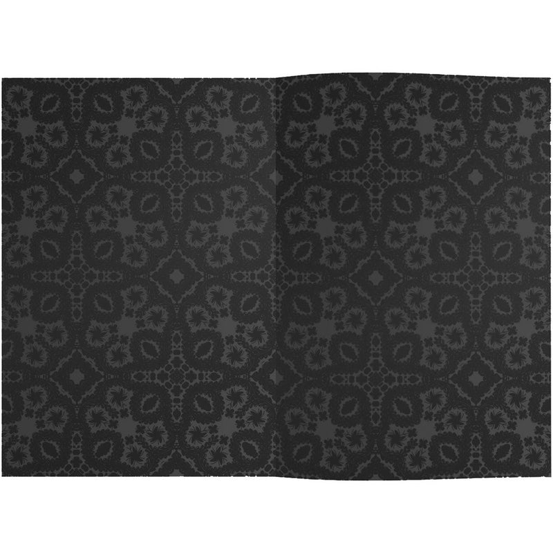"Christian Lacroix Embossed Paseo Notebook - Black-Stationary-GA-Galison-Medium 6 x 8""-Putti Fine Furnishings"