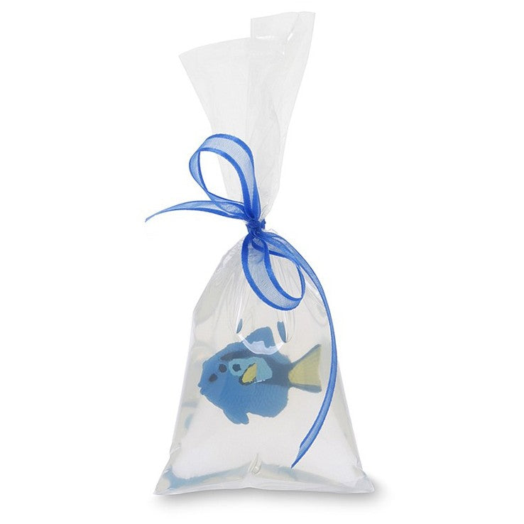 """Fish in a Bag"" Soap - Blue Tang"