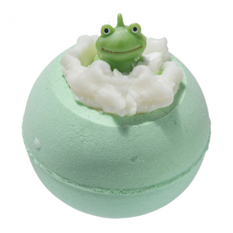 "Bomb Cosmetics UK ""It's Not Easy Being Green"" Bath Blaster, BCUK-Bomb Cosmetics UK, Putti Fine Furnishings"