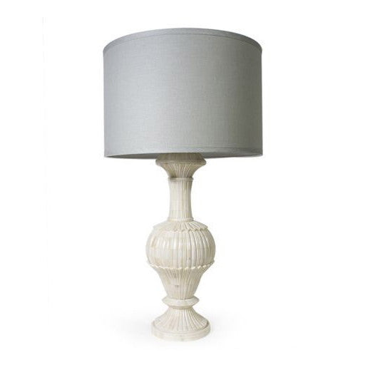 Jamie Young Carved Bone Table Lamp Large -  Table Lamp - Jaimie Young - Putti Fine Furnishings Toronto Canada - 4