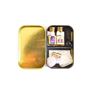 Borsari Miniature Perfume Set in Tin, Euroscents, Putti Fine Furnishings