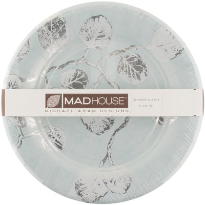 Michael Aram Botanical Leaf Paper Dinner Plates -  Paper Napkin - Madhouse - Putti Fine Furnishings Toronto Canada - 2