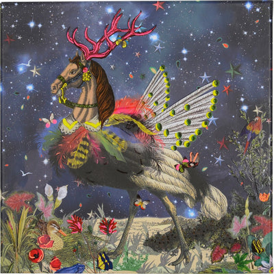 Christian Laxroix - Crazy Horse Diecut Boxed Notecards, GA-Galison, Putti Fine Furnishings