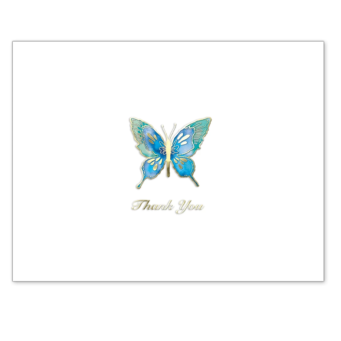 Punch Studio Butterfly Thank You Cards | Putti Fine Furnishings Canada