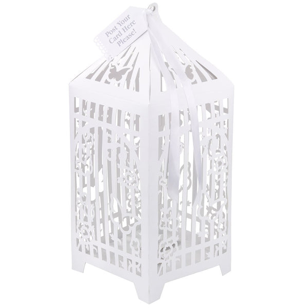 Birdcage Post Box-Party Supplies-TT-Talking Tables-Putti Fine Furnishings