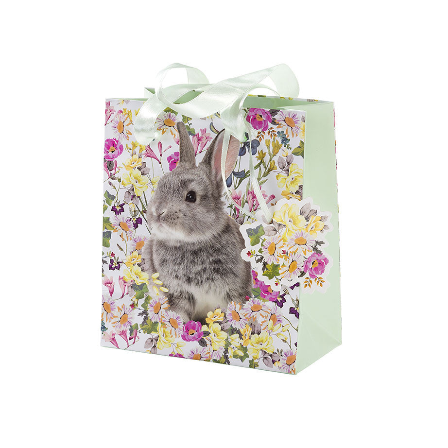 Truly Bunny Gift Bag - Small -  Easter - Putti Fine Furnishings - Putti Fine Furnishings Toronto Canada - 1