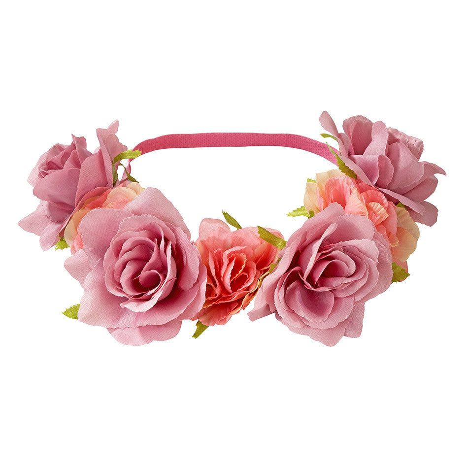 Arriving Soon! Truly Scrumptious Floral Headband -  Party Supplies - Talking Tables - Putti Fine Furnishings Toronto Canada - 1