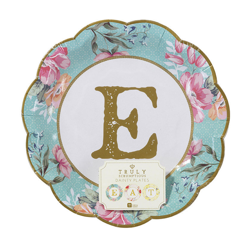 "Truly Scrumptious Small ""Eat"" Plates - Small"