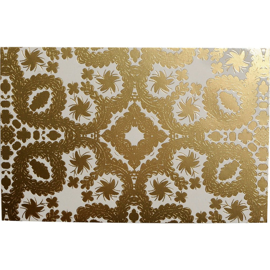 Christian Laxroix - Oro Y Plata Correspondence Diecut Boxed Notecards