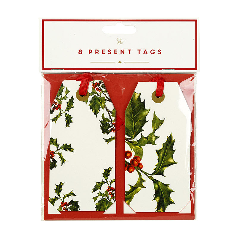 Botanical Christmas Gift Tags