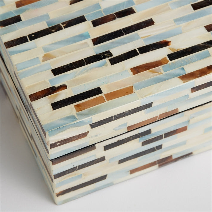 Tri Color Mother of Pearl Boxes, TH-Tozai Home, Putti Fine Furnishings