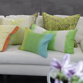 Designers Guild Calaggio Apple Cushion-Pillow-DG-Designers Guild-Apple-Putti Fine Furnishings