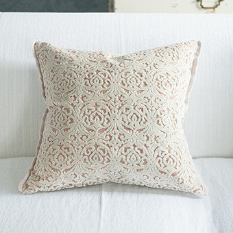 Designers Guild Calista Blossom Throw Pillow-Pillow-DG-Designers Guild-Blossom-Putti Fine Furnishings