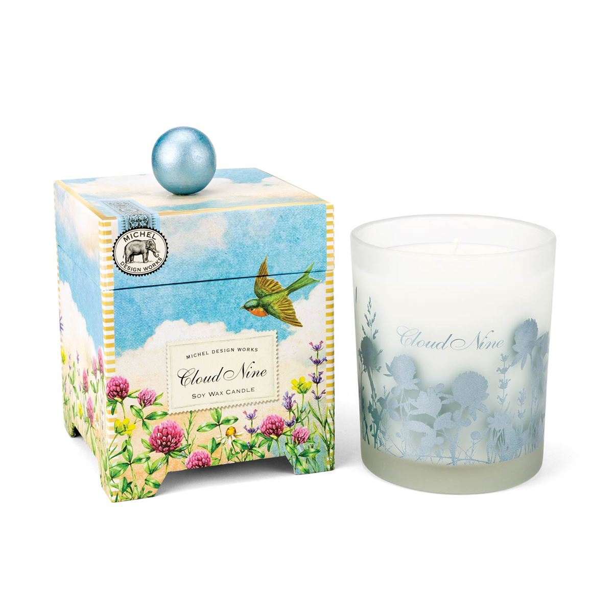 """Cloud Nine"" Soy Wax Candle"