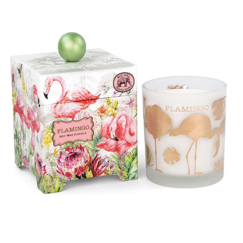 Michel Design Works Flamingo Soy Wax Candle | Putti Fine Furnishings