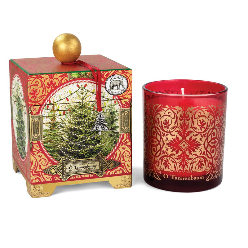 Michel Design Works O Tannenbaum Candle 14oz | Putti Christmas