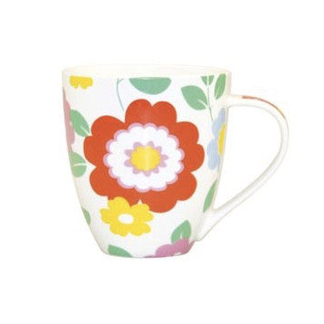 Cath Kidson Circus Flowers Mug -  Tableware - J L Bradshaws - Putti Fine Furnishings Toronto Canada