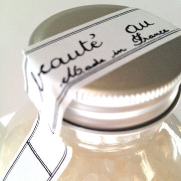 Cote Bastide Bath Salts Jar - Milk