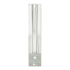 Silver & White Ombre Taper Candles -  Party Supplies - Talking Tables - Putti Fine Furnishings Toronto Canada - 1