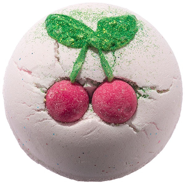 Bomb Cosmetics UK Cherry Bomb Bath Blaster - Le Petite Putti
