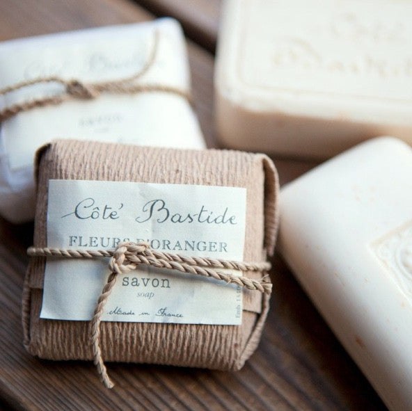 Cote Bastide Wrapped Soap 125g - Orange Blossom
