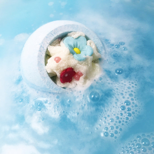 "Bomb Cosmetics UK ""Cotton Flower"" Bath Blaster, BCUK-Bomb Cosmetics UK, Putti Fine Furnishings"