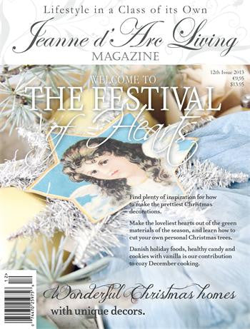 Jeanne d'Arc Living Magazine Dec 2013 12th Edition-Book-Jeanne d'Arc Living-Putti Fine Furnishings