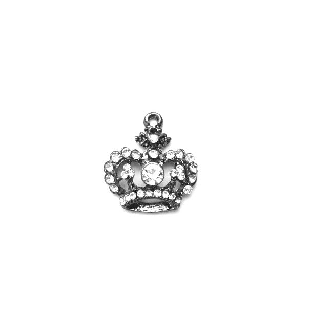 Miss Rose Sister Violet Crown Pendant -  Accessories - Miss Rose Sister Violet - Putti Fine Furnishings Toronto Canada