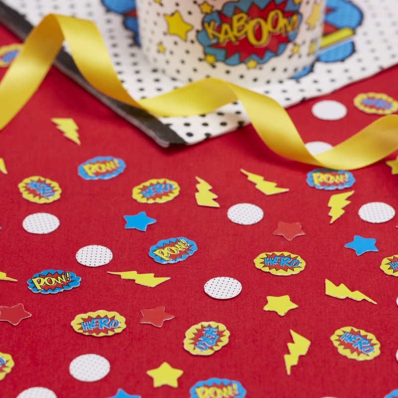 Superhero Table Confetti, GR-Ginger Ray UK, Putti Fine Furnishings