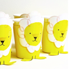 Arriving Soon! Silly Circus - Paper Cups -  Party Supplies - Meri Meri UK - Putti Fine Furnishings Toronto Canada - 3