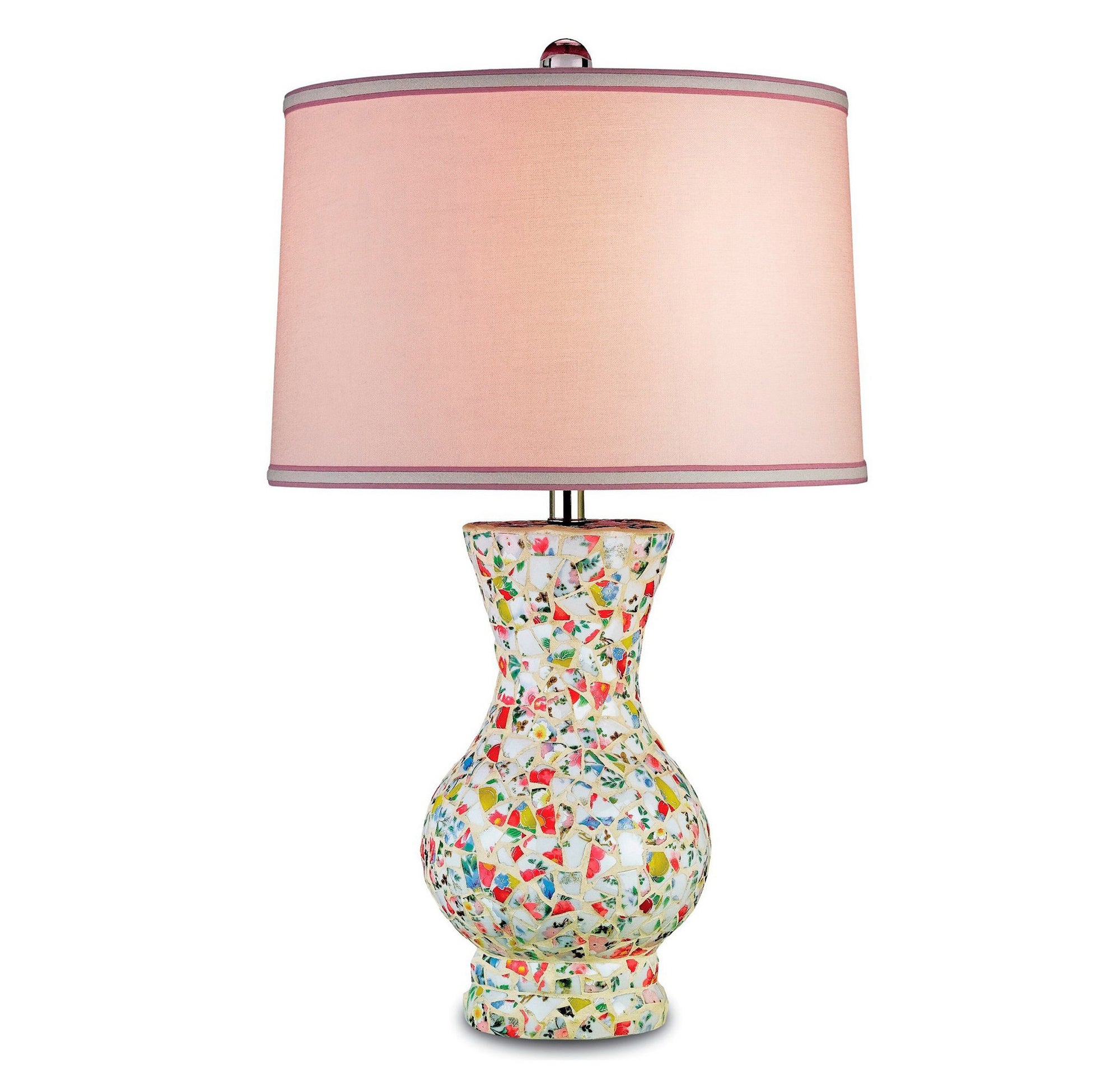 "Currey & Company ""Boveney"" Mosaic Table Lamp"