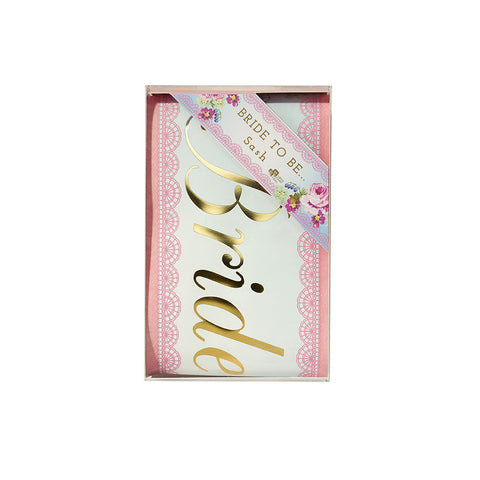 "Truly Hen Party ""Bride to Be"" Sash-Party Supplies-TT-Talking Tables-Putti Fine Furnishings"
