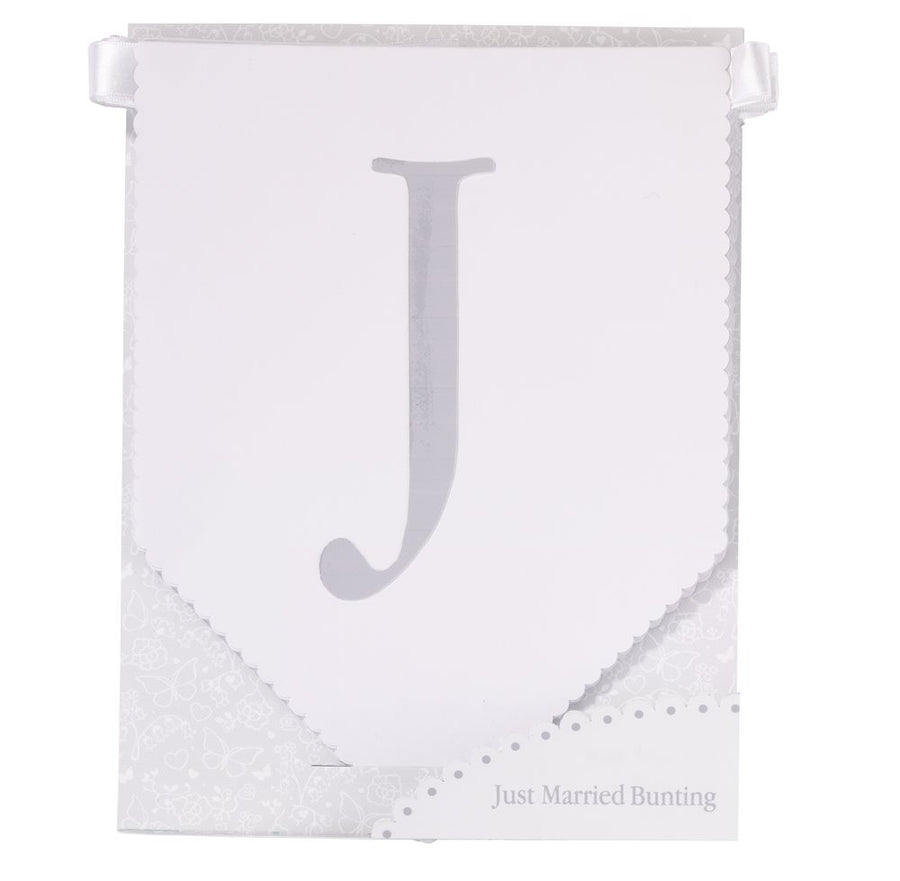 """Just Married"" Bunting"