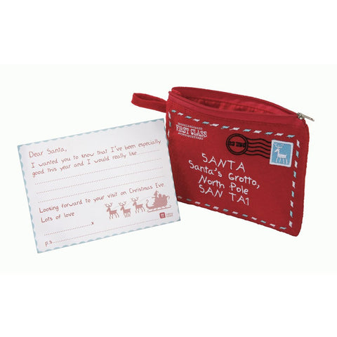 Waiting for Santa Felt Purse and Letter Kit-Party Supplies-TT-Talking Tables-Putti Fine Furnishings