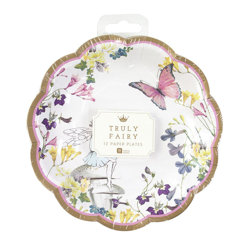 """Truly Fairy"" Paper Plates"