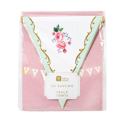 Truly Chintz Bunting, TT-Talking Tables, Putti Fine Furnishings