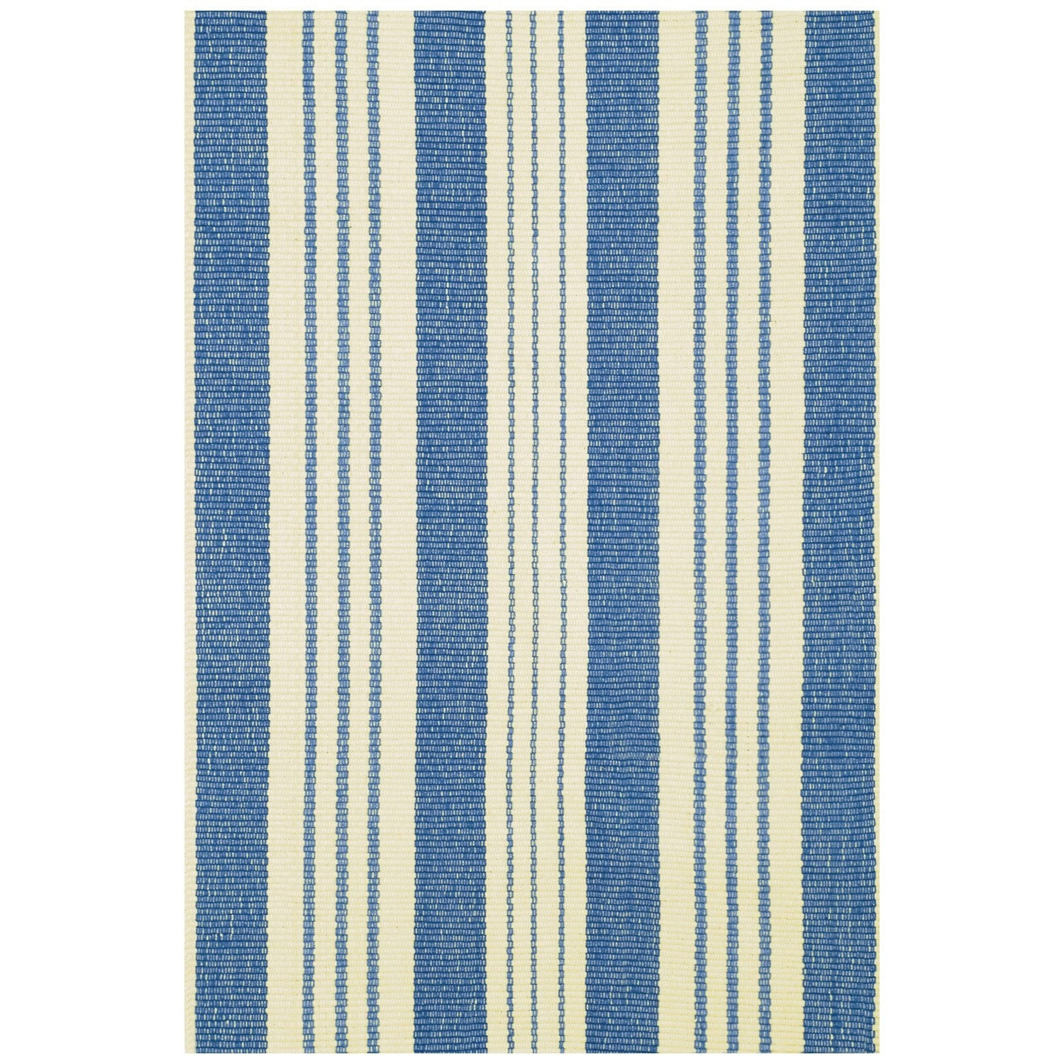 Staffordshire Stripe Woven Cotton Rug, D&A-Dash & Albert, Putti Fine Furnishings