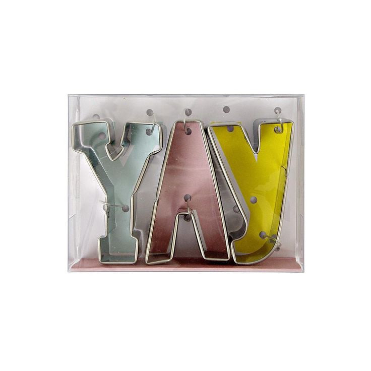 """Yay"" Cookie Cutter, MM-Meri Meri UK, Putti Fine Furnishings"