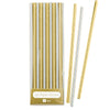 Gold & Silver Foil Straws, TT-Talking Tables, Putti Fine Furnishings