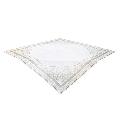 Party Porcelain Gold Paper Table Cover, TT-Talking Tables, Putti Fine Furnishings