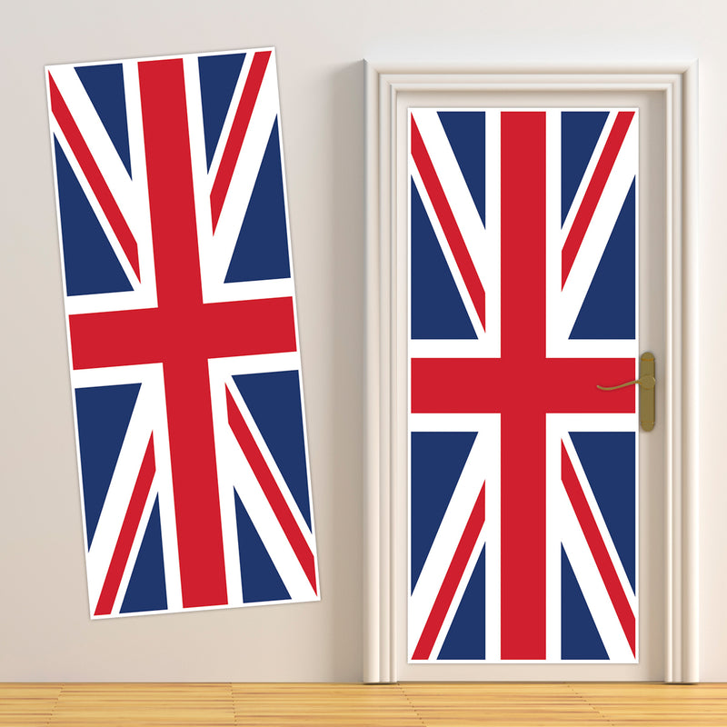 Union Jack Door Cover
