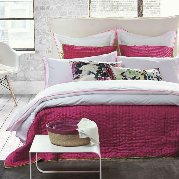 Designers Guild Astor Peony and Pink Bedding